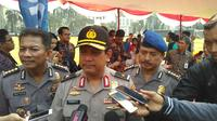Karo Penmas Polri Brigjen Pol Rikwanto, Polri menerbitkan blue notice soal Rizieq Shihab, di Mabes Polri, Jakarta, Rabu (14/6/2017). (Liputan6.com/Rezki Apriliya Iskandar)