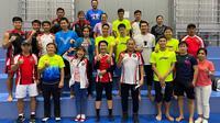Tim bulu tangkis Indonesia di Olimpiade Tokyo 2020. (Dok PBSI)