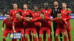 Alasan kedua adalah Timnas Portugal memiliki skuat yang paling lengkap di berbagai lini. Banyaknya pemain yang mumpuni akan membuat pelatih Fernando Santos lebih fleksibel dalam membuat taktik pertandingan. (Foto: AFP/Genya Savilov)