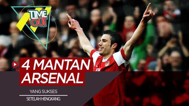 Berita Video Termasuk Robin van Persie, Berikut 4 Mantan Bintang Arsenal yang Makin Sukses Usai Hengkang