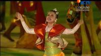 Rossa dalam Opening Ceremony Asian Games 2018 (SCTV)