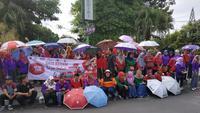 Hari AIDS sedunia di Kediri (Liputan6.com/Dian Kurniawan)