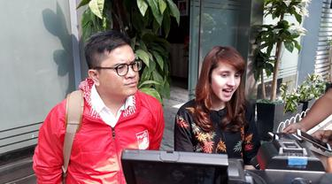 Ketua Dewan Pimpinan Pusat Partai Solidaritas Indonesia (DPP PSI) Tsamara Amany