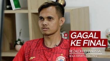 Berita video bek Persija Jakarta, Rezaldi Hehanussa, gagal menantang rekannya, Andritany Ardhiyasa, di Final BOLA Esports Challenge yang digelar pada Jumat (26/6/2020).