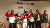 Jelang SEA Games 2019, Petenis Indonesia Ikut Kejuaraan di Jakarta  (ist)
