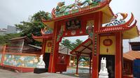 Klenteng Da Bo Gong yang terletak di Jalan Pantai Sanur No.5 Binaria Ancol, Jakarta Utara.