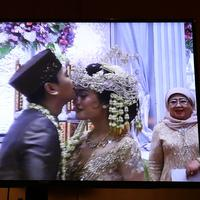 Akad Nikah Raditya Dika dan Annisa Aziza (Nurwahyunan/bintang.com)