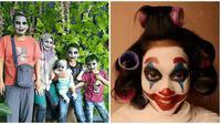 Potret Nyeleneh Orang Berdandan ala Joker Ini Bikin Tepuk Jidat (sumber:Instagram/receh.id)