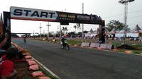 Boyolali kembali menggelar Trial Game Asphalt International Championship (TGAIC) 2019 seri kelima, yang akan diselenggarakan di Sirkuit Boyolali, Jawa Tengah, pada 13-14 Desember 2019. (Cakra Yuri Nuralam/Liputan6.com)