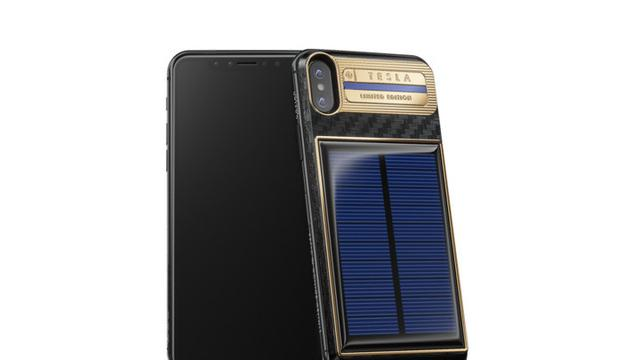 iPhone X Tesla bertenaga surya besutan Caviar yang dibanderol Rp 67 jutaan  (Sumber  Apple Insider) 2ec316d437