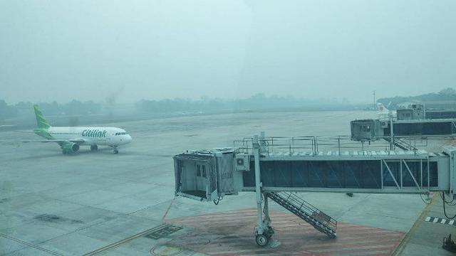 Dampak Asap Pada Aktivitas Penerbangan Di indonesia