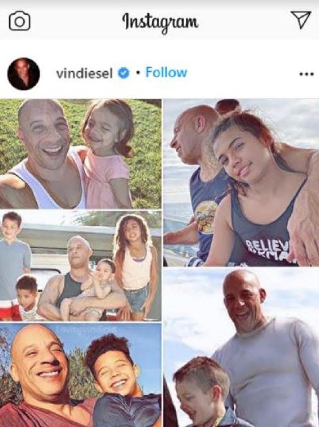 Vin Diesel (Foto: Instagram/@vindiesel)