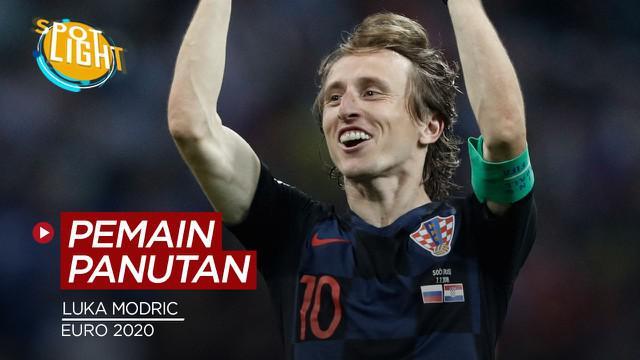 Berita video spotlight kali ini membahas tentang empat senior yang jadi panutan tim di Euro 2020, salah satunya ialah Luka Modric.