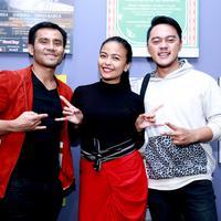 Judika - Tantri - Danang Latihan Untuk HUT SCTV (Wimbarsana/bintang.com)