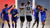 Premier League - Cristiano Ronaldo, Wayne Rooney, Son Heung-min, Harry Kane, Didier Drogba, Frank Lampard (Bola.com/Adreanus Titus)