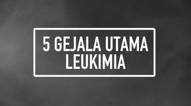 Tahun 2016, sebanyak 60 ribu orang diperkirakan menderita leukimia. Leukimia merupakan salah satu jenis kanker darah yang mempengaruhi produksi dan fungsi sel darah putih dalam melawan infeksi. Berikut 5 gejala utama yang dapat membantu mendeteksi pe...