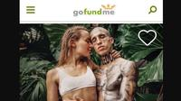 Pasangan selebgram asal Jerman yang meminta dana untuk keliling Afrika. (dok. Instagram @another_beautiful_day_official/https://www.instagram.com/p/ByfINE3l3AI/Dinny Mutiah)