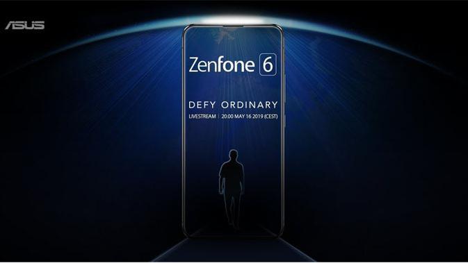 Asus bakal perkenalkan smartphone terbarunya, Zenfone 6. (Doc: Twitter/ @ASUS)