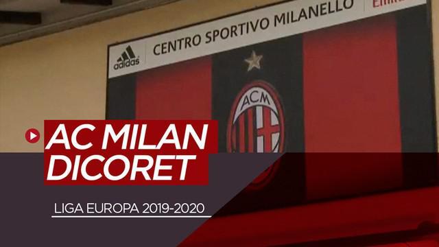 Berita video AC Milan dicoret dari Liga Europa 2019-2020 karena melanggar aturan Financial Fair Play (FFP).