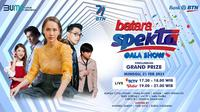 Bank BTN bakal menggelar acara BTN Spektra Gala Show pada 21 Februari 2021.
