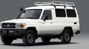 Toyota Land Cruiser Khusus Pengangkut Vaksin
