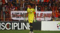 Madura FC kalah dari Persik Kediri di Stadion Brawijaya Kota Kediri, Jumat (4/10/2019). (Bola.com/Gatot Susetyo)