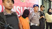 Pelaku Pembunuhan FAN (8) di Megamendung, Puncak, Kabupaten Bogor.