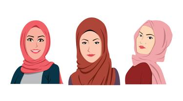 Ilustrasi hijab