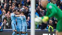 Manchester City vs Aston Villa (AP Photo/Jon Super)