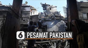 Menteri Penerbangan menyebut pilot pesawat Pakistan International Airlines (PIA) yang jatuh 22 Mei lalu tidak fokus.