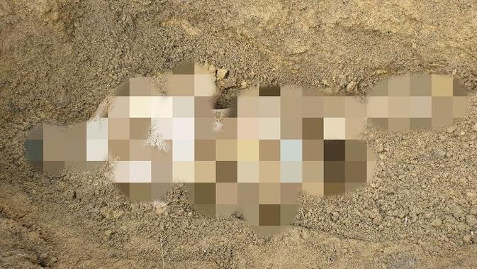 Penemuan mayat tanpa busana diduga korban pembunuhan di Pelalawan karena menolak berhubungan badan sejenis. (Liputan6.com/M Syukur)
