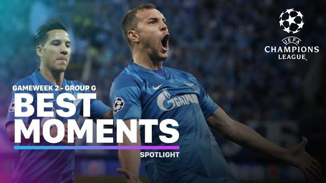Berita video momen-momen menarik yang hadir pada matchday 2 di Grup G Liga Champions 2019-2020.