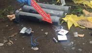 Sebuah bom palsu ditemukan di dekat markas Polres Cilacap. (dok Polda Jateng)