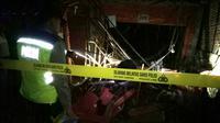 Warga yang rumahnya ikut rusak akibat ledakan petasan menyatakan memaafkan keluarga penyebab musibah. (Liputan6.com/Muhamad Ridlo)