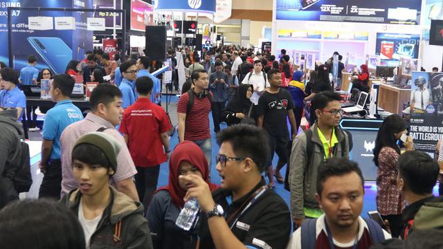 Melihat teknologi terbaru di Indocomtech 2018