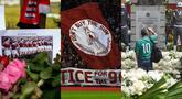 Selain aksi menghibur, dunia sepak bola juga tak terhindar dari tragedi kelam yang menyedihkan. Korban jiwa turut menghiasi tragedi kelam di dunia sepak bola dunia. (Kolase foto AFP)