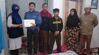 Sebagian warga Desa Tenjowaringin, Tasikmalaya, Jawa Barat siap menjadi donor mata. (Foto: Dok Keluarga Donor Mata Tasikmalaya)