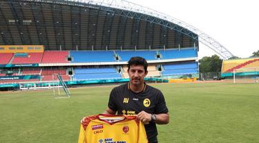 Sriwijaya FC Andalkan Alfredo Vera Bangun dari Keterpurukan