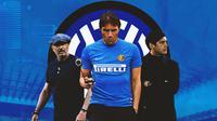 Inter Milan - Sinisa Mihajlovic, Antonio Conte, Paulo Fonseca (Bola.com/Adreanus Titus)