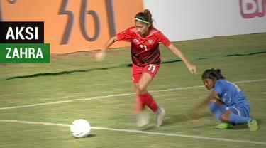 Berita video aksi-aksi pemain Timnas putri Indonesia, Zahra Muzdalifah, yang membuat kewalahan penggawa tim Maladewa di Asian Games 2018.