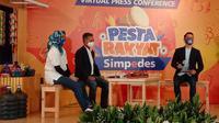 PT Bank Rakyat Indonesia (Persero) Tbk atau Bank BRI kembali menghadirkan Pesta Rakyat Simpedes (PRS) 2020