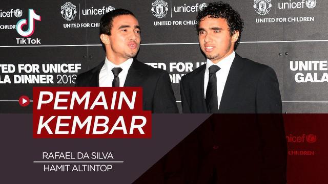 Berita video TikTok Bola.com kali ini membahas tentang pesepak bola yang punya saudara kembar, Rafael da Silva dan Hamid Altintop salah satunya.