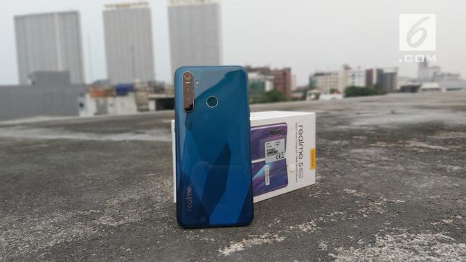 Realme 5 Pro. Liputan6.com/Iskandar