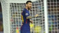 1. Lionel Messi (Barcelona) - 12 Gol (1 Penalti). (AFP/Lluis Gene)