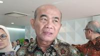 Menteri Koordinator Bidang Pembangunan Manusia dan Kebudayaan (Menko PMK) Muhajir Effendy. Liputan6.com/Tira Santia.