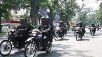 Brimob Polda Sumut telah melaksanakan patroli skala besar di seputaran Kota Medan sejak Rabu, 28 Oktober 2020.