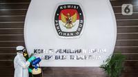 Ilustrasi Gedung KPU (Liputan6.com/Faizal Fanani)