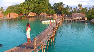 Kampung Nelayan di Halmahera Selatan