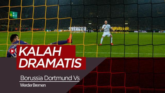 Berita Video Borussia Dortmund Kalah Dramatis di DFB Pokal