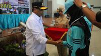 Diklat Pemberdayaan Masyarakat ini diikuti oleh 200 orang peserta yang berasal dari Politeknik Kelautan dan Perikanan Bone Sulawesi Selatan